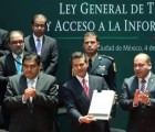 Con nueva ley de transparencia no habrá opacidad: EPN