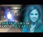 Vengo del futuro: Candidata se anuncia con holograma