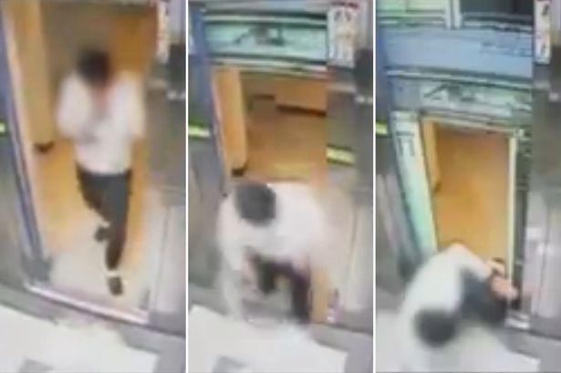 Hombre coreano evita la muerte más horrenda por 1 segundo