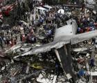 Se estrella avión militar en Indonesia, reportan 116 muertos