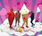 "Blur se transforma en videojuego en el video de ""Ong Ong"""