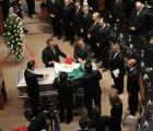 Realizan homenaje de despedida a Camacho Solís en el Senado