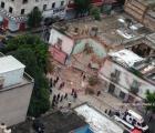 Colapsa vivienda en República de Perú, en el Centro Histórico