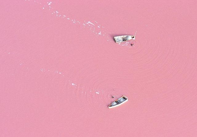 Lago Retba rosa 2