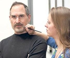 Figura en cera de Steve Jobs