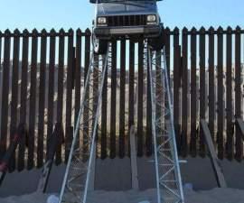 camioneta atorada