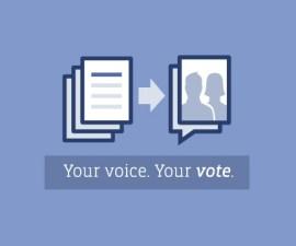 Facebook votación