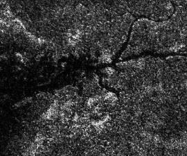 Río en Titán