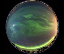 Aurora boreal de Göran Strand