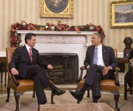 barack-obama-y-pena-nieto- visita mexico
