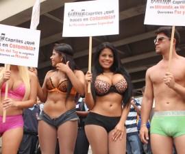 protesta ausencia capriles
