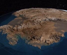 Antártida-sin-hielo