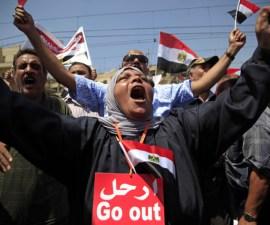 Morsi Go out