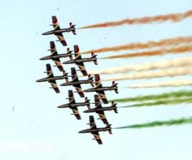 desfile aereo militar