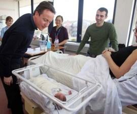 David Cameron Visits Kingston Hospital
