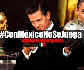Enrique Peña Nieto #ConMéxicoNoSeJuega