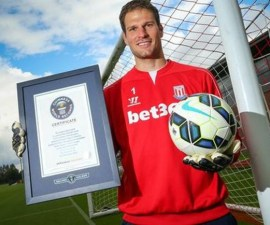 Asmir Begovic record guinness