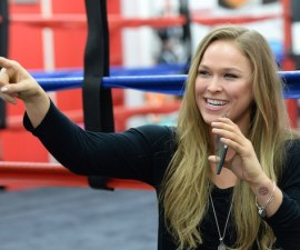 MMA: UFC 184-Ronda Rousey Media Day