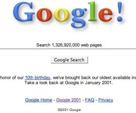 google-2001