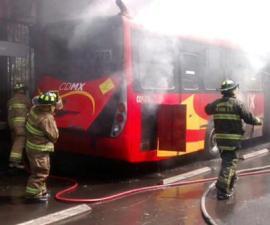 metrobus incendio