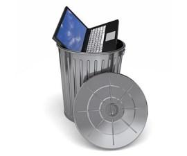 computadora basura