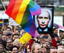 putin gay rusia