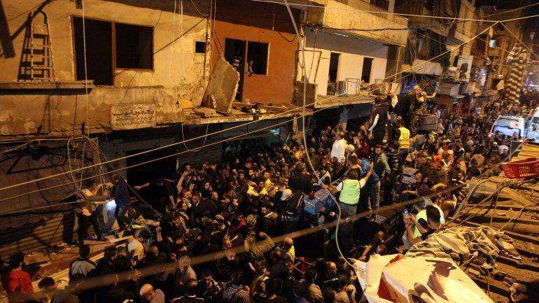 atentado suicida líbano