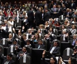 50201059. México, D.F.- El presidente de la Cámara de Diputados, Silvano Aureoles Conejo, declaró formalmente iniciado el Segundo Periodo de Sesiones Ordinarias del Tercer Año de Ejercicio de la LXII Legislatura. NOTIMEX/FOTO/JORGE ARCIGA/JAA/POL/