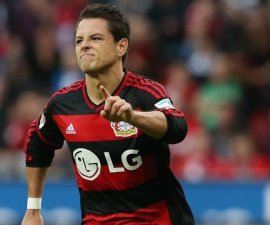 chicharito bayer