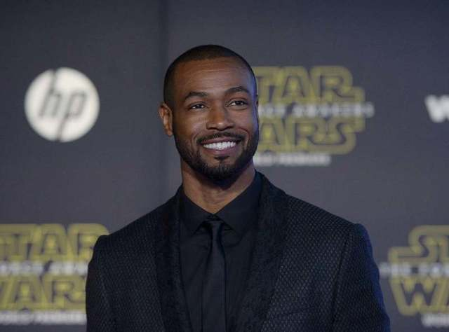 "Actor Isaiah Mustafa arrives at the premiere of ""Star Wars: The Force Awakens"" in Hollywood, California December 14, 2015. REUTERS/Kevork Djansezian"