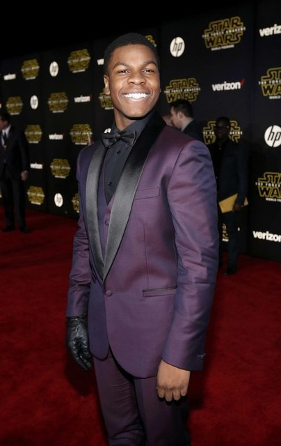 "Actor John Boyega arrives at the premiere of ""Star Wars: The Force Awakens"" in Hollywood, California December 14, 2015. REUTERS/Mario Anzuoni"