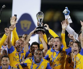 Football Soccer - Pumas v Tigres - The second leg of their Mexican first division final soccer match