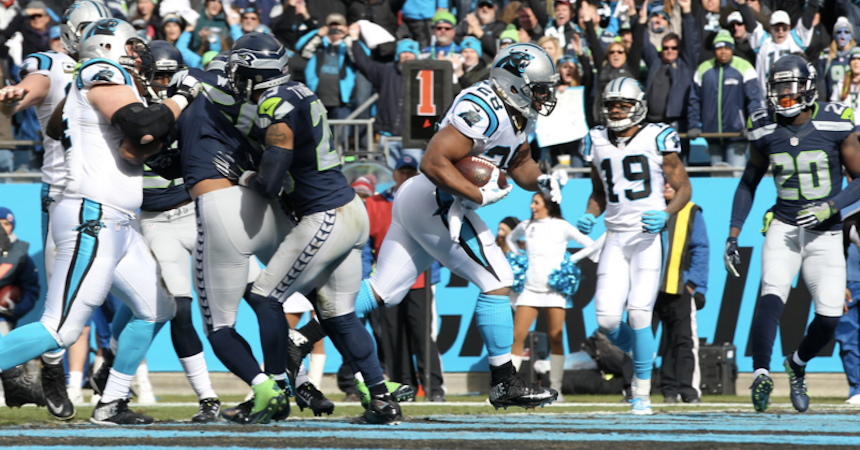 seahawks panthers