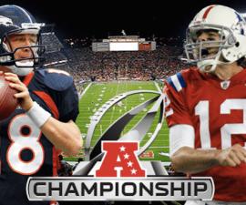 broncos vs patriots afc championship