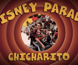 chicharito disney parade