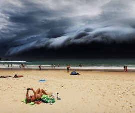 Storm Front on Bondi Beach - Rohan Kelly, Australia
