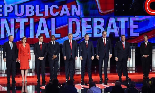 Debate Republicano elecciones eua 2016