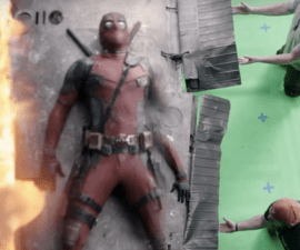 Deadpool special effects