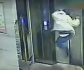 pelea elevador