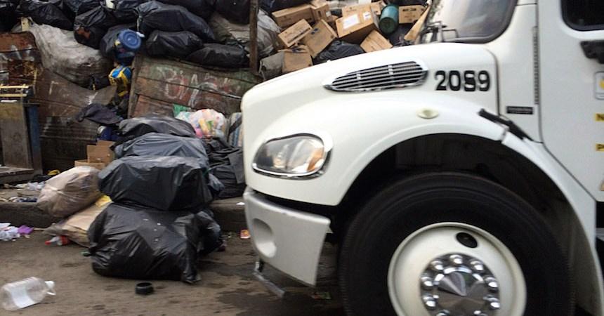 basura ciudad de mexico