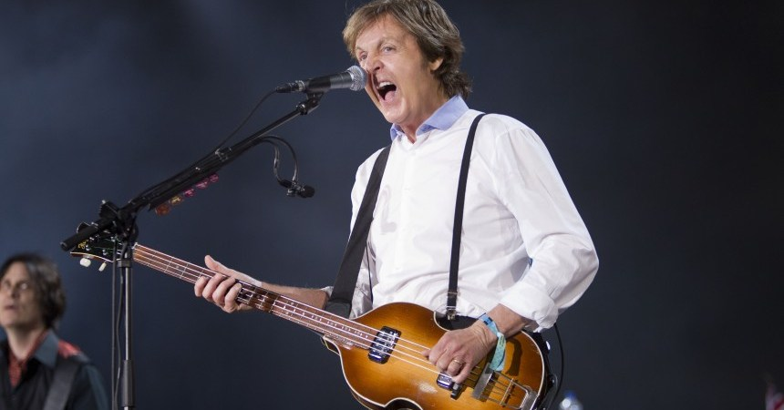 Paul McCartney On The Run tour Montevideo, Uruguay