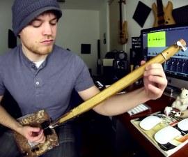 guitarra casera