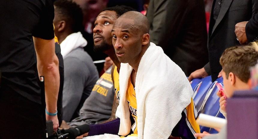 Se subasta la última toalla que usó Kobe Bryant