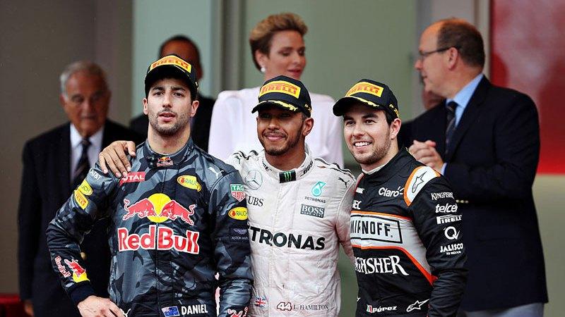 Checo-Perez-Podio-Gran-Premio-Monaco