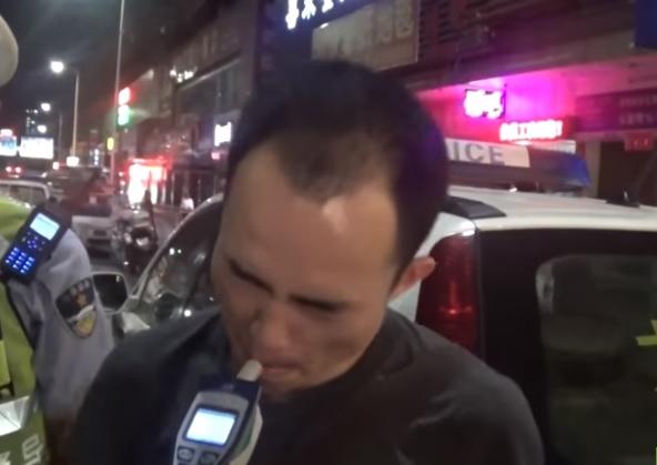 chino alcoholimetro