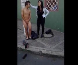 colombiana desnudo robo