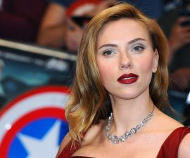 "LONDON, ENGLAND - MARCH 20:  Scarlett Johansson attends the UK Film Premiere of ""Captain America: The Winter Soldier"" at Westfield London on March 20, 2014 in London, England.  (Photo by Anthony Harvey/Getty Images)"