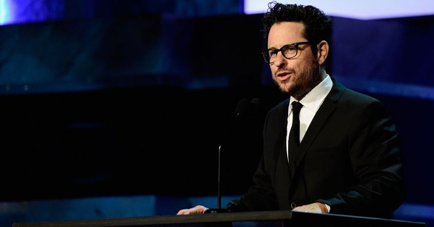 HOLLYWOOD, CA - JUNE 09:  Director J.J. Abrams onstage during American Film Institute's 44th Life Achievement Award Gala Tribute show to John Williams at Dolby Theatre on June 9, 2016 in Hollywood, California. 26148_001  (Photo by Frazer Harrison/Getty Images for Turner)