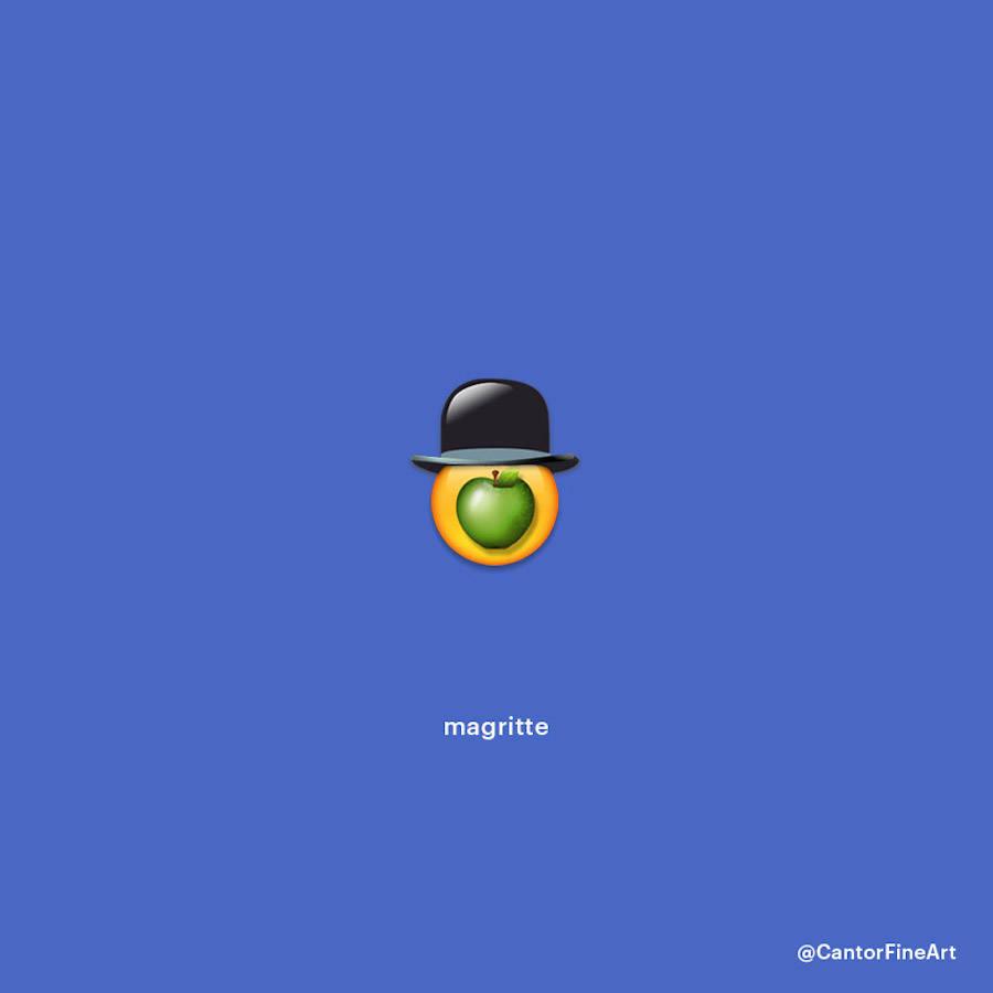 Magritte Emoji