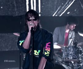 The strokes jimmy kimmel
